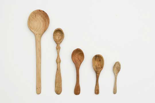 Carved Spoons by Jon Shade