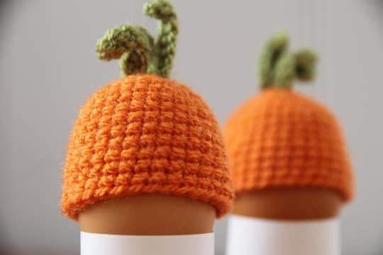 Carrot Cozy Egg Warmer from PETIT Miracles