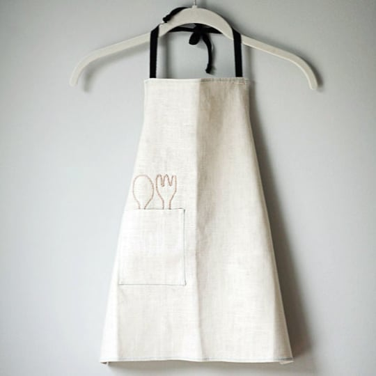 Child's Linen Apron from Erlina Kim