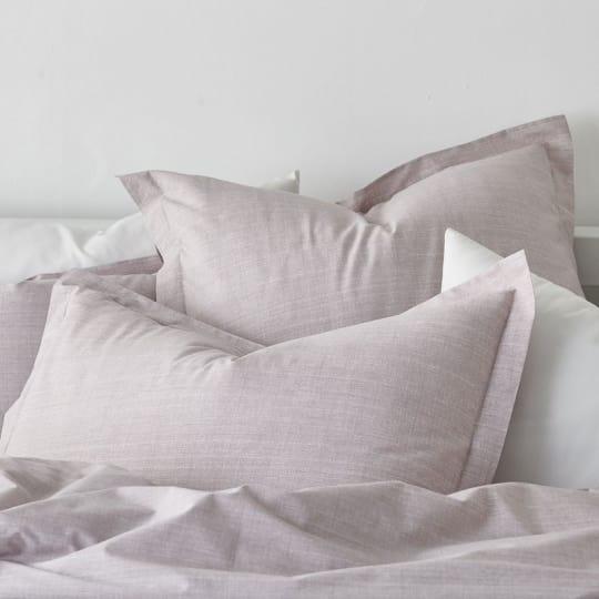 Canvas Percale Bedding - Rose Quartz