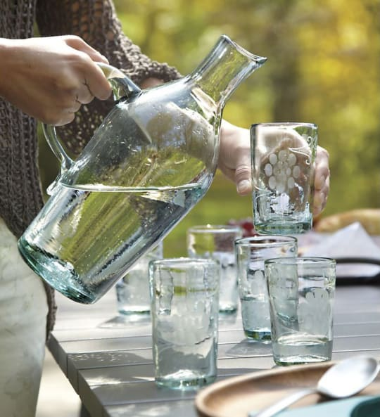 Miguel Wine Carafe from Crate & Barrel