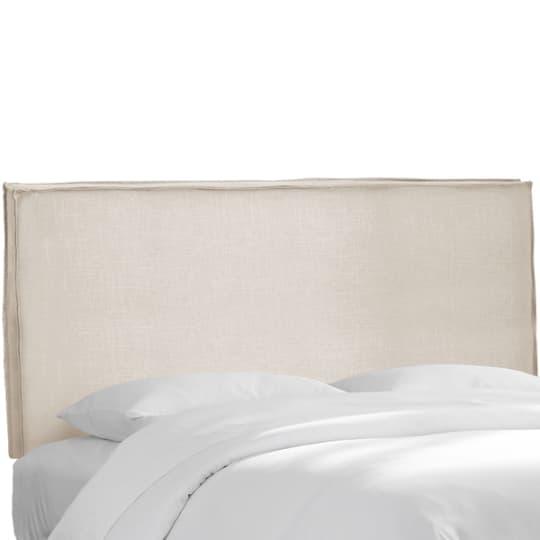 Skyline Furniture Talc Linen Slipcover Headboard at Overstock