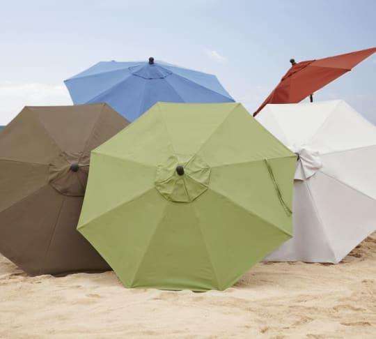 Pottery Barn Outdoor Umbrellas