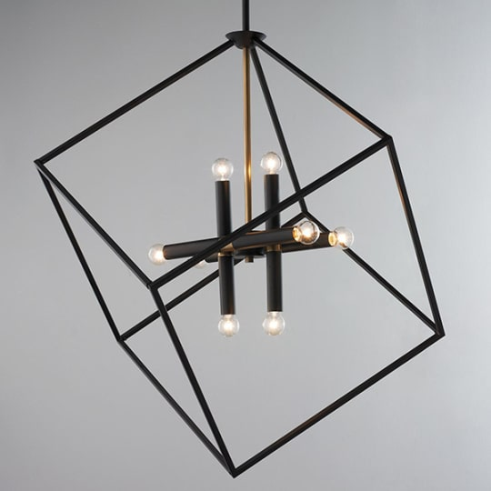 Be Squared Modern Chandelier at Shades of Light