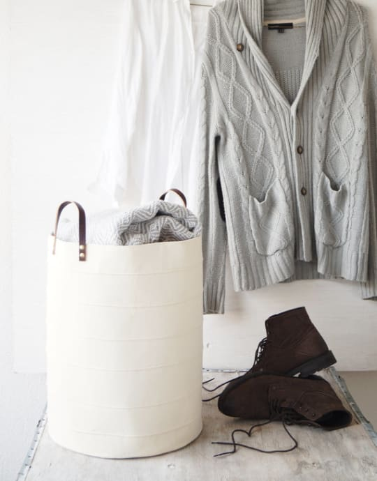 Large Canvas Laundry Hamper