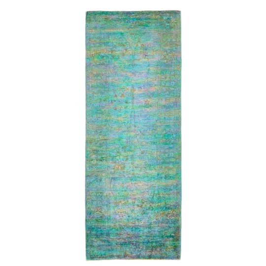 Color Reform Spectrum Overdyed Rug, 3'x7'11""