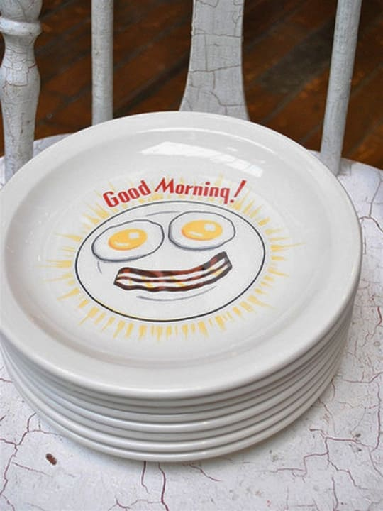 Good Morning Plate from P.O.S.H