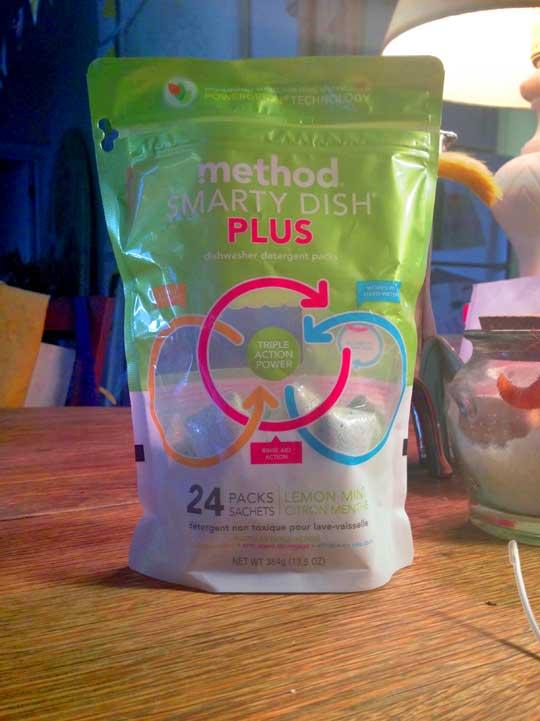 Smarty Dish Plus Dishwasher Detergent by Method