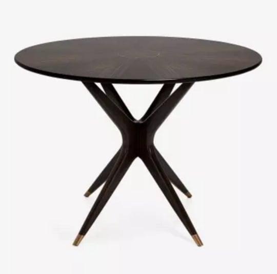 Classic Round Mahogany Dining Table