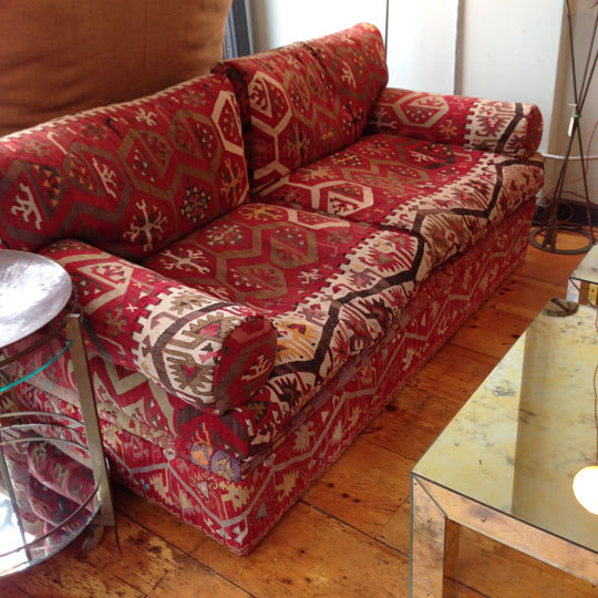 George Smith Kilim Bolster Sofa