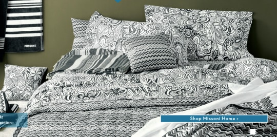 Missoni OZ Bedding Collection
