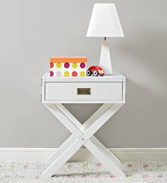 Miles Campaign Nightstand