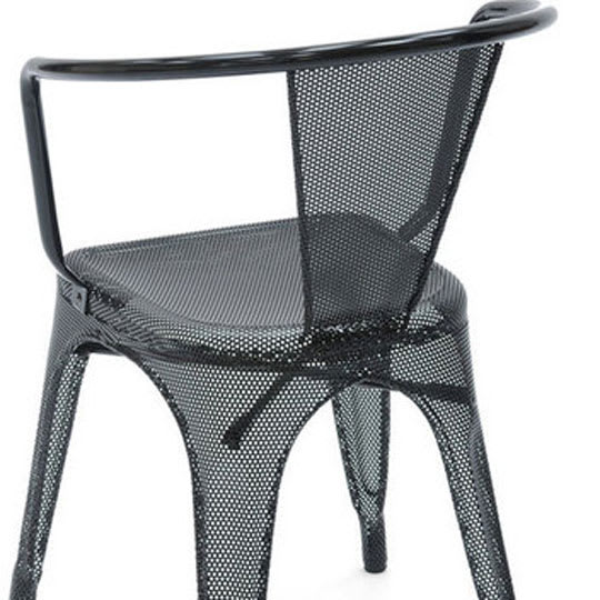 Tolix Perforated A Chairs
