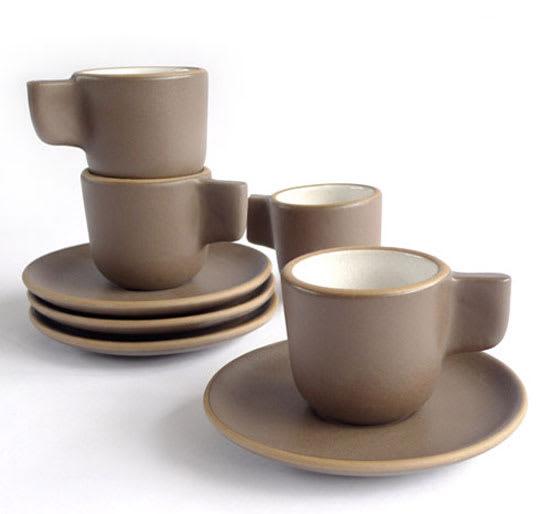 Heath Espresso Cup & Saucer