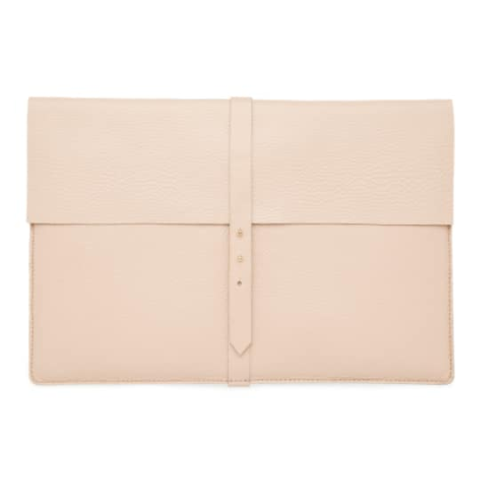 Leather Laptop Sleeve by Cuyana