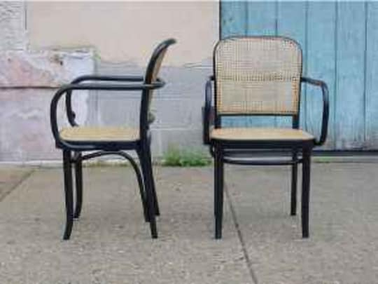 Thonet-Style Mid Century Chairs