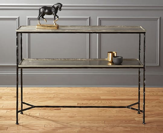 Molten Metal Console Table at CB2