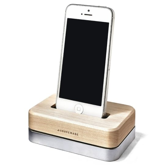 Grovemade Maple iPhone Dock