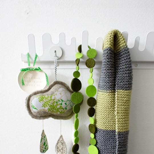 Wave Coat Rack by Nani Holen