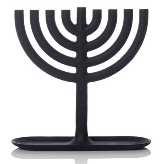 Cast Iron Menorah by Josh Owen