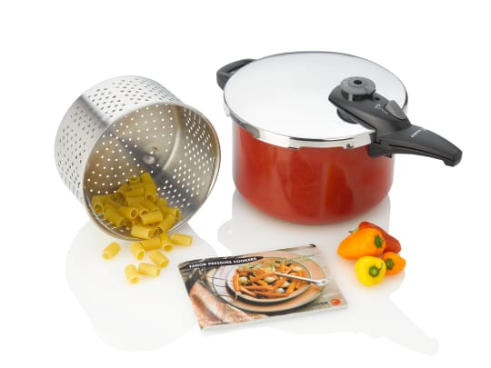 Fagor 8-Quart Cayenne Pressure Cooker