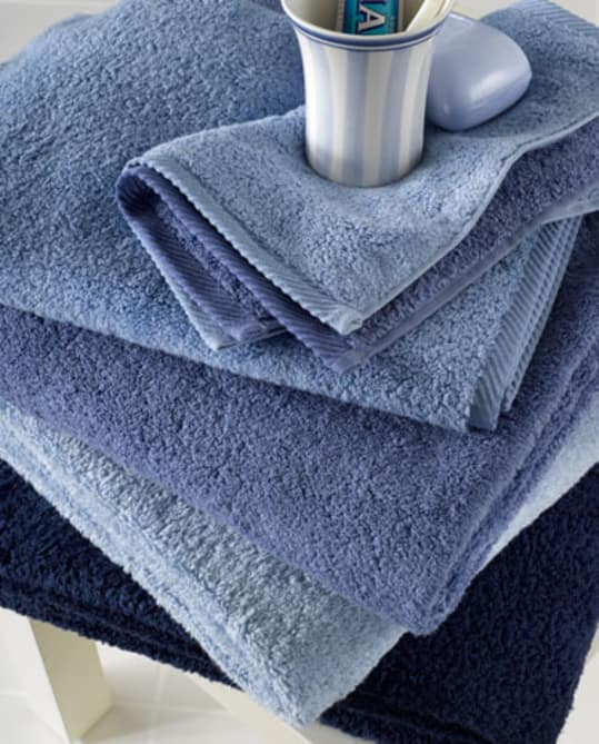 "Matouk Milagro Towels with Egyptian Cotton ""zero-twist"" Yarns"