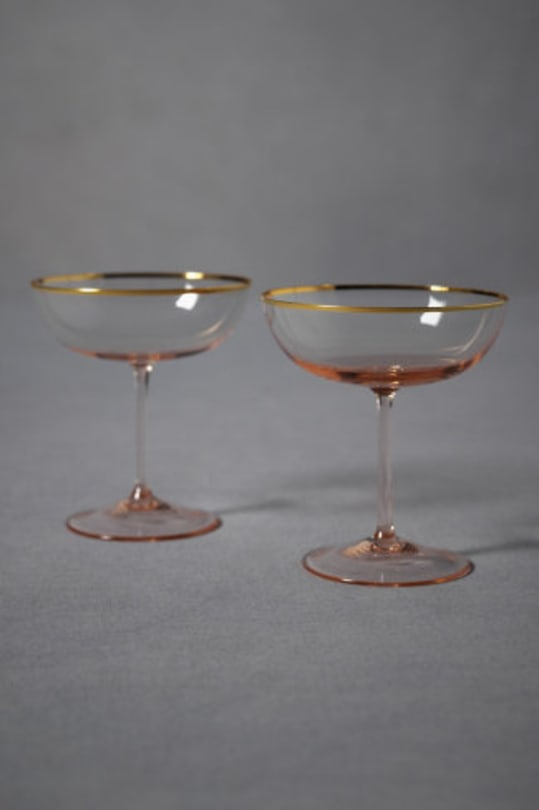 Rosy-Cheeked Coupes from BHLDN