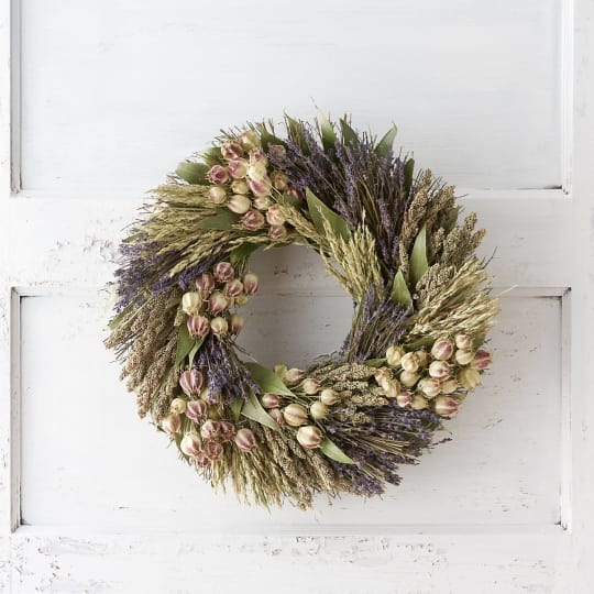 Bay & Lavender Wreath from Terrain