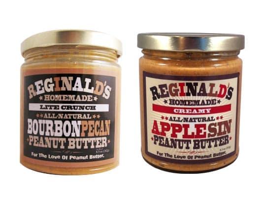 Bourbon Pecan Peanut Butter from Reginald's Homemade