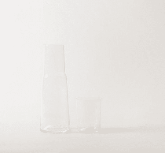 Water Carafe with Cup