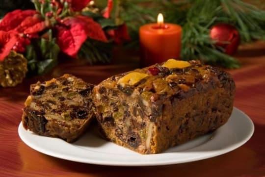 Bourbon Fruitcake from Bien Fait Cakes