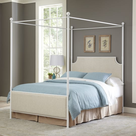 Williston Canopy Bed by Birch Lane at Wayfair