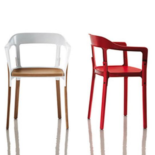 Steelwood Chair by Ronan & Erwan Bouroullec