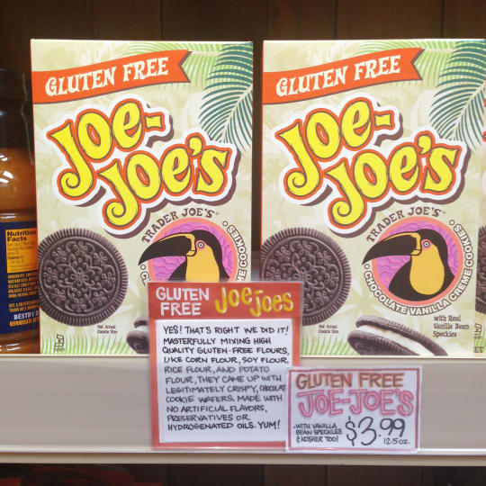 Gluten-Free Joe-Joe's from Trader Joe's