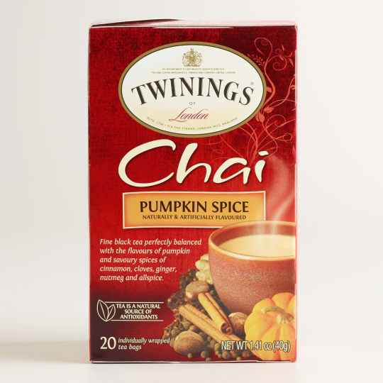 Pumpkin Spice Chai from Twinings