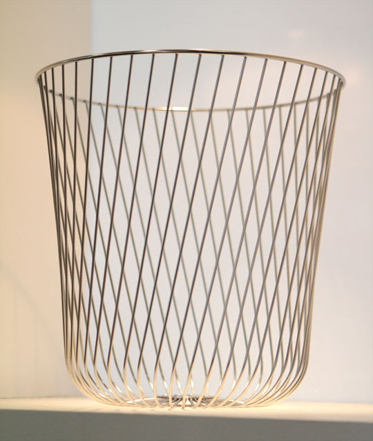 A Tempo Wastebasket by Pauline Deltour
