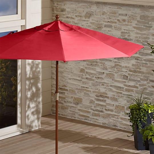 Crate & Barrel Outdoor Patio Umbrellas