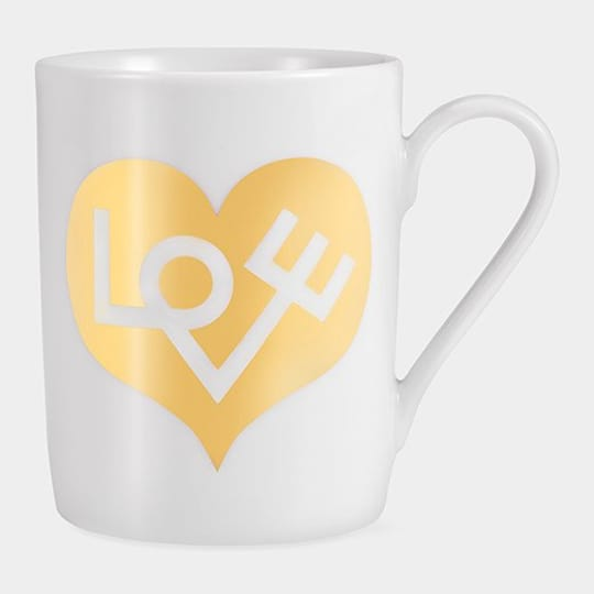 Alexander Girard Love Coffee Mug