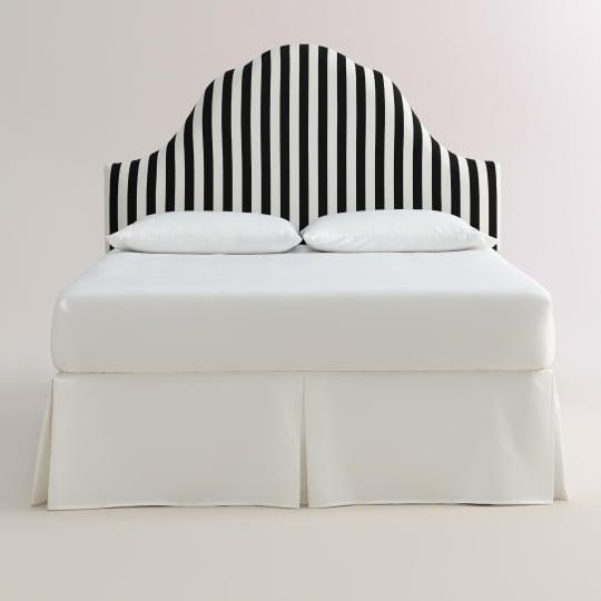 Canopy Stripe Elsie Upholstered Headboard at World Market
