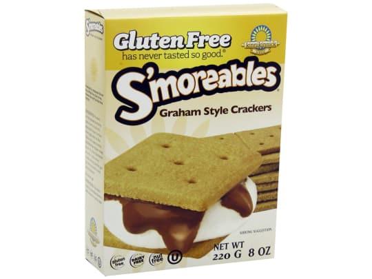 S'moreables Gluten-Free Graham Style Crackers from Kinnikinnick