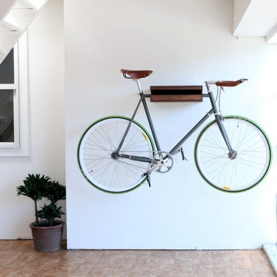 The Original Bike Shelf at Knife & Saw