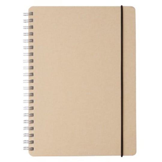 Muji Recycled Paper Ring Dot Notebook A5