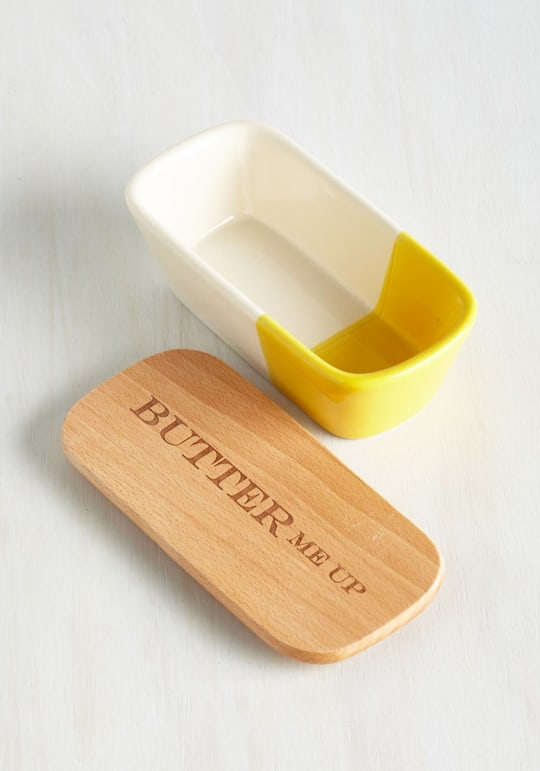 After all is Spread and Done Butter Dish from ModCloth