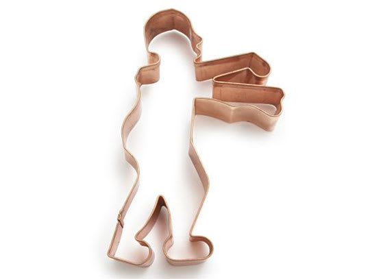 Zombie Copper Cookie Cutter from Sur La Table