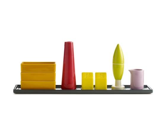 Condiment Architecture by Aldo Cibic for MoMA