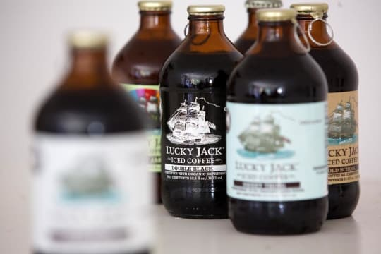 Lucky Jack Organic Coffee Cold Brew Bottles