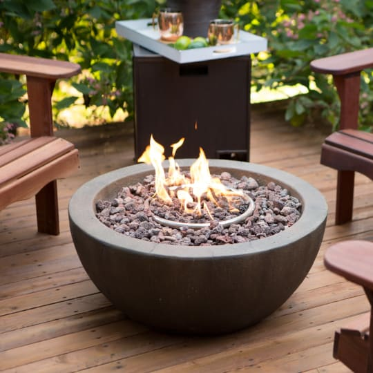 Red Ember Mesa 28 in. Gas Fire Pit Bowl at Hayneedle