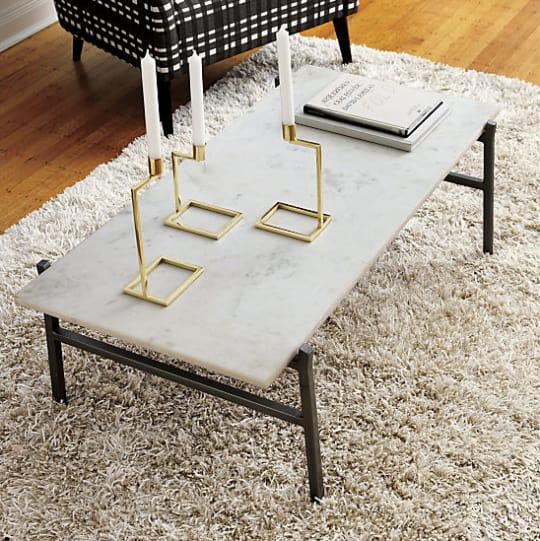 Slab Marble Coffee Table