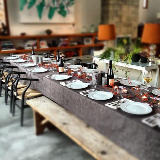 """Mahogany """"Tuscany"""" Tablecloth"""