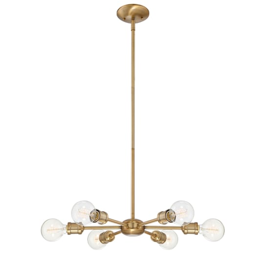 Mercer41 St Helens 6-Light Sputnik Chandelier at Wayfair